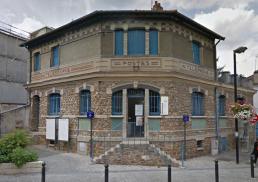 photo façade réhabilitation et l'extension d'une bibliothèque à Orly