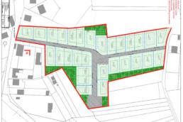 Plan d'aménagement d'un lotissement à Villeneuve-Saint-Germain