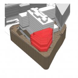 Plans 3D mission de programmation d'une construction pour l'ENS Paris