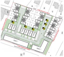 Plan de construction des logements individuels et collectifs de Laon