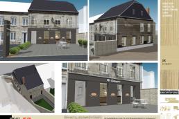 Illustration pour la réhabilitation thermique d'un bâtiment communal