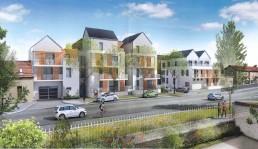 Programmation architecturale et urbaine, construction logement Château Thierry