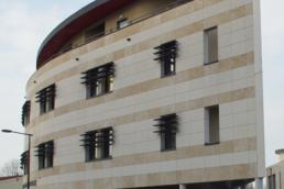 Façade anciens bâtiments du siège de la CCI à Châlons-en-Champagne