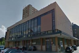 Photo façade Halle du marché couvert de la Ville de Sedan