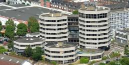 Programmation du nouveau siège du grand port de Rouen, Seine Maritime, Normandie.
