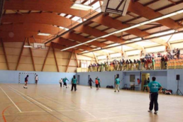 Photo intérieur du gymnase Felix Merlin à Epinay sur Seine