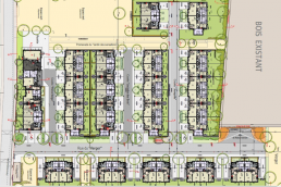 Plans construction 43 logements individuels Pommeuse